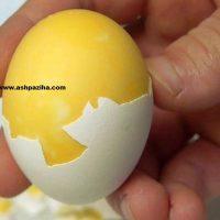 جدیدترین روش آبپز کردن تخم مرغ+مخلوط