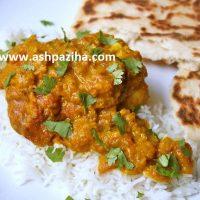 آموزش تصویری دسی مرغ (غذای هندی)