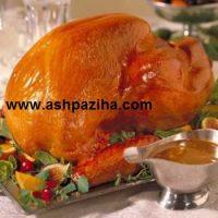 آموزش کامل طرز تهیه مرغ شکم پر (تصویری)