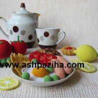 نمونه ای از میوه ها و غذاهای بافته (سری پنجم)
