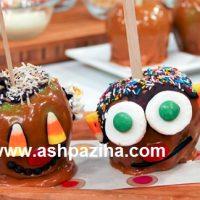 تزئین سیب شکلاتی با طرح های کارتونی (سری دوم)