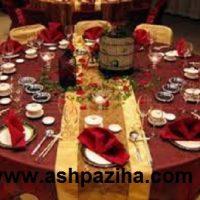 روش های درست چیدمان میز غذا در مهمانی ها سری چهار