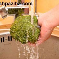 بهترین روش شستن کلم بروکلی
