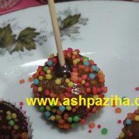 آموزش تصویری شکلات های چوبی مخصوص تولد