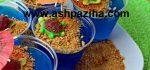 طرز تهیه ژله آکواریومی در لیوان