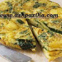 دستور تهیه املت سیب زمینی با پنیر و اسفناج ویژه