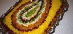تزیین مرصع پلو با مرغ