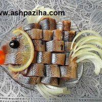 تزیین انواع ماهی مجلسی ویژه ایام عید ۱۳۹۶