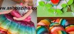 آموزش تصویری ۴ نوع ژله رنگین کمانی مجلسی به همراه تزیین