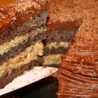 طرز تهیه کیک شکلاتی آلمانی