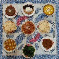 بهترین مدل های تزیین سفره افطار شیک مخصوص ماه رمضان