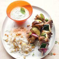 دستور پخت کباب مرغ یونانی خوشمزه