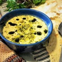 طرز تهیه آش کشک مخصوص به روش رستورانی و مجلسی
