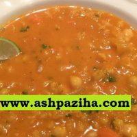طرز تهیه آش جو یا سوپ جو ایرانی به روش پخت آرام پز