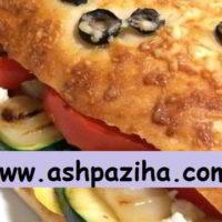 طرز تهیه ساندویچ سبزیجات کبابی کالیفرنیا و آشنایی با مواد مورد نیاز آن