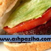 طرز تهیه ساندویچ قارچ پورتوبلو و آموزش درست کردن آن