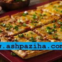 طرز تهیه پیتزا مکزیکی به روش پخت رستورانی