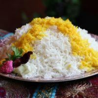 طرز تهیه ی برنج زعفرانی مخصوص شب یلدا