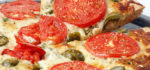 طرز تهیه ی پیتزا گوجه فرنگی