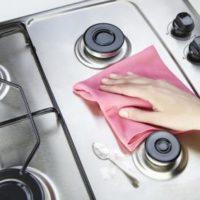 چگونگی تمیز کردن اجاق گاز