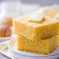 طرز تهیه ی نان ذرت شیرین