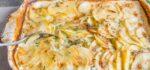 دستور پخت ساده گراتین سیب زمینی