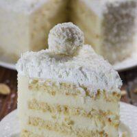 دستور پخت کیک نارگیل و بادام