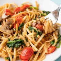 دستور پخت پاستا سبزیجات در کمتر از ۳۰ دقیقه